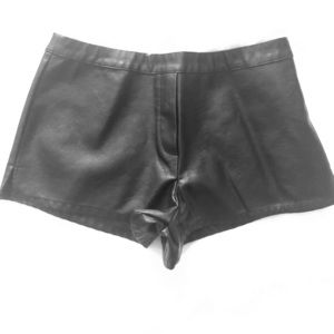 Victoria's Secret Faux Leather Shorts